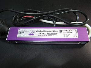 LED WATERPROOF TRANSFORMER * PRI-ETR-20W