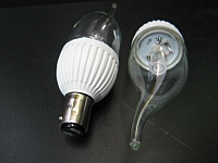 LED CANDLE LIGHT * PRI-MO-CANDLE-3W : DIMMABLE BULB