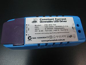 LED DIMMABLE DRIVER * PRI-WD-700