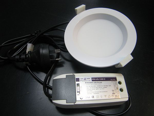 LED CEILING LIGHT * PRI-US-13W-D : DIMMABLE 0-100%