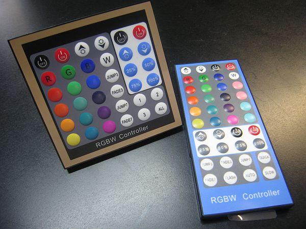 LED CONTROLLER RGBW * PRI-RGBW-C-4A : 12VDC-24VDC