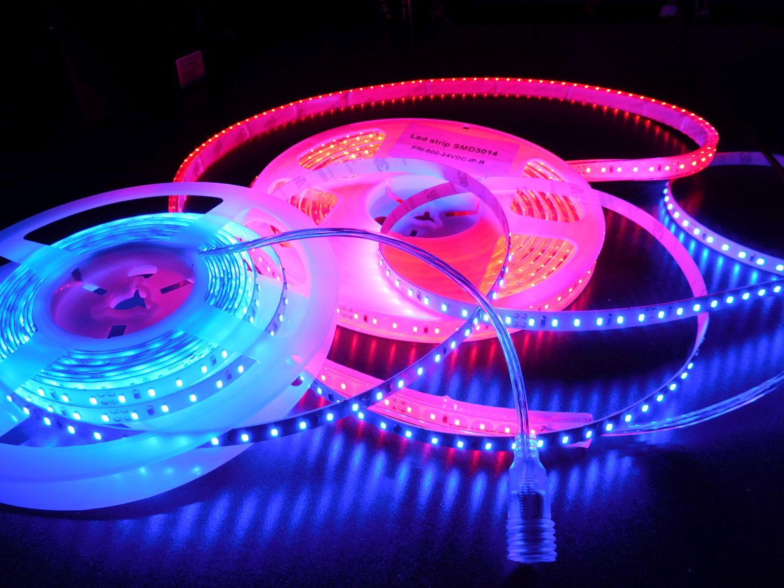 LED STRIPS * PRI-600-24VDC : WATERPROOF & NON-WATERPROOF