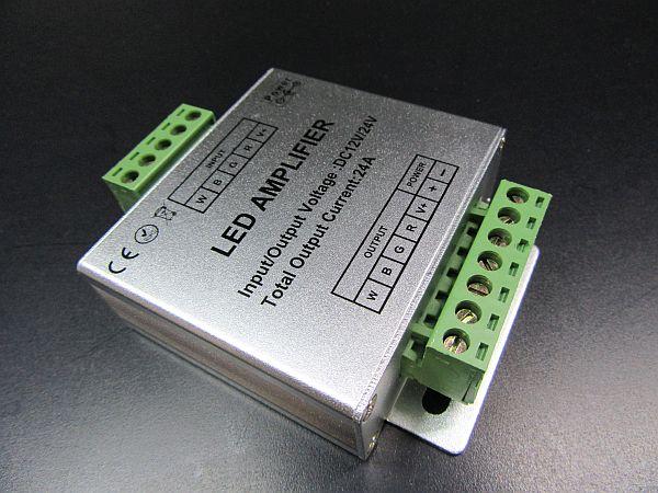 PRI-RGBW-12-24-6AMP * RGBW REPEATER 6A