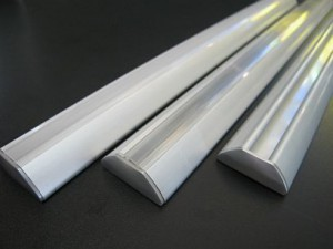 LED EXTRUSION * PRI-FUSION-XC : 300mm-1.5M LENGTHS