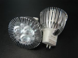 LED MR11 * PRI-BR-MR11-XP :10-30VDC &12VAC