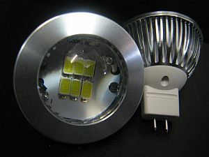 LED MR16 * PRI-XJA-HP2:10-30VDC &12VAC