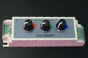 LED 3 CHANNEL DIMMER * PRI-DIM-RGBC