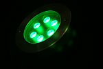 LED INGROUND LIGHT * PRI-ACE-IN-RGB-18W