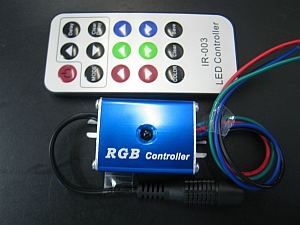 LED RGB CONTROLLER * PRI-MINI-RGBC-IR