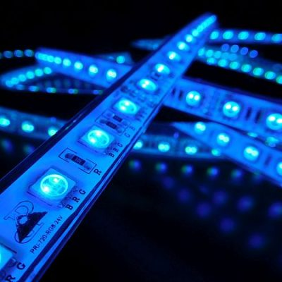 LED STRIP * PRI-720-RGB-IP-24V : 10 METER RGB STRIP WATERPROOF & NON WATERPROOF