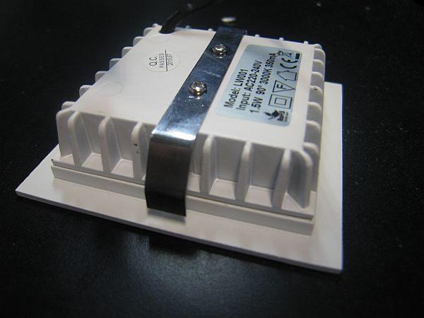 LED WALL LIGHT * PRI-CORTE-1.5W : 10-30VDC & 240VAC