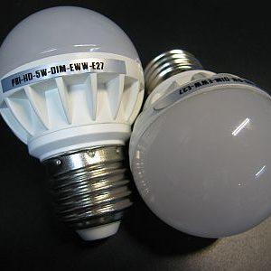 LED BULB * PRI-HO-5W-DIM 240VAC : DIMMABLE BULB