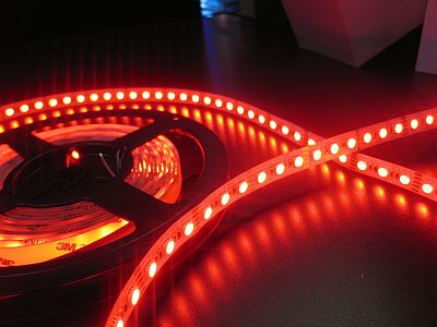 LED STRIP * PRI-RGBW-84 :NON WATER PROOF RGBW 12VDC&24VDC