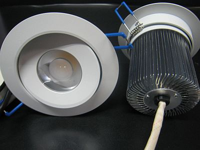 LED CEILING LIGHT * PRI-RO-14W-D GIMBALE AND DIMMABLE 240VAC