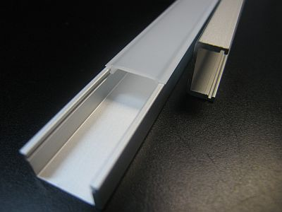 LED EXTRUSION * PRI-XS-TRACK : 1 & 2 M LENGTHS