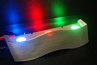 LED WALL LIGHT FITTING * PRI-LU-WAVE