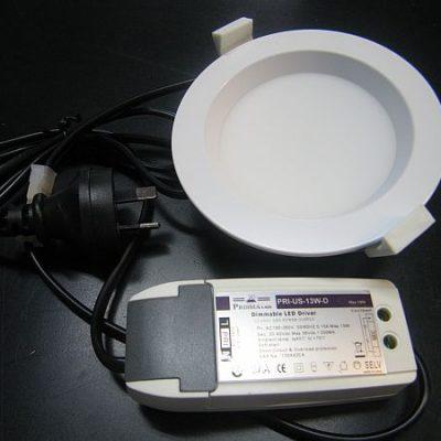 LED CEILING LIGHT * PRI-US-13W-D : DIMMABLE 0-100%